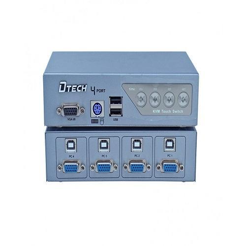 BỘ CHUYỂN ĐỔI TÍN HIỆU VGA KVM 4-1(DT-8041)