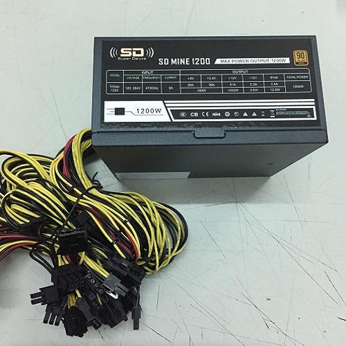 Nguồn máy tính SD MINE 1600W dùng cho bitcoin(sever-games)