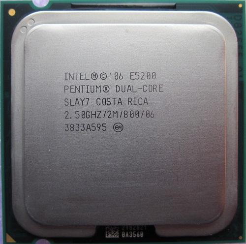 CPU Intel® Core Duo E5200/ E5300/ E5400/ E5500