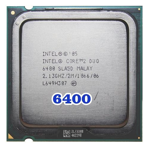 CPU Intel® Core 2 E6400/6420