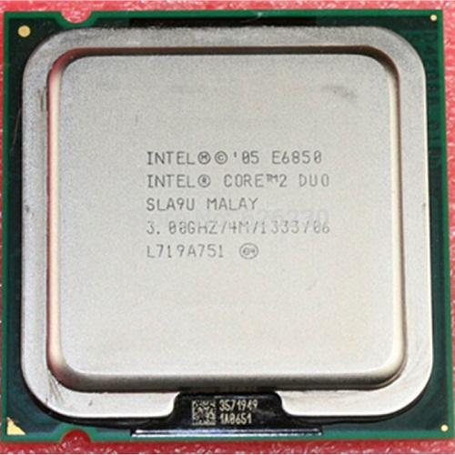 CPU Intel® Core 2 E6850/ 6750/ 6600