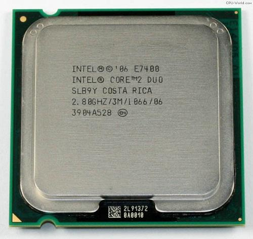CPU Intel® Core DUO E7400