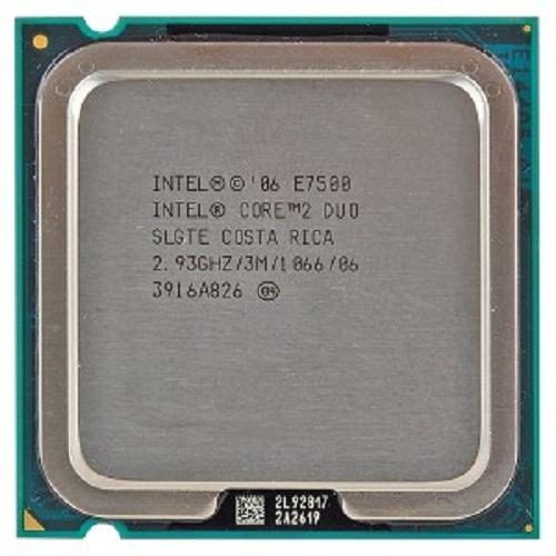 CPU Intel® Core 2 DUO E7500