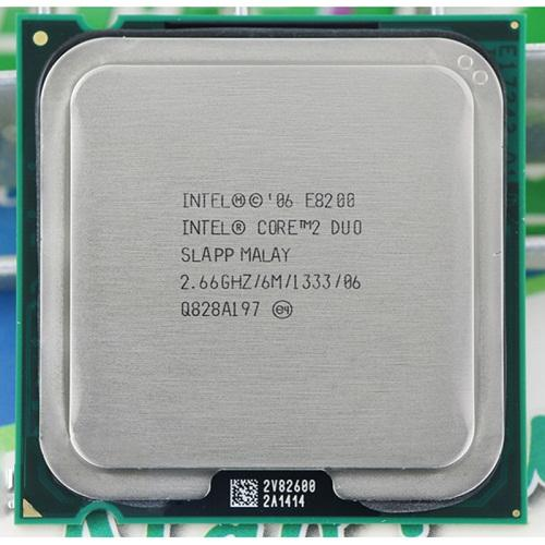 CPU Intel® Core 2 DUO E8200