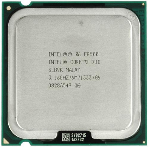 CPU Intel® Core 2 DUO E8500