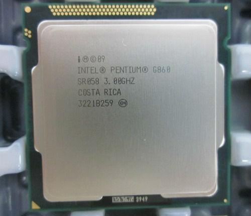 CPU Intel® Pentium G860 TRAY SOCKET 1155 FAN I3