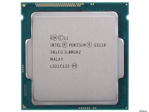 CPU Intel® Pentium G3220 TRAY FAN I3