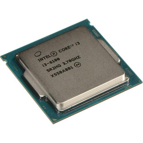 CPU Intel® Core i3 6100 TRAY FAN i3