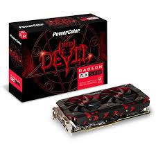 Card Màn Hình - VGA PowerColor Red Devil Radeon™ RX570 4GB