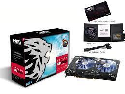 Card Màn Hình - VGA Chuyên BITCOIN HIS RX 570 IceQ X² OC 8GB DDR5 256 bit
