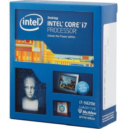 CPU Intel® Core i7 - 5820k NO FAN