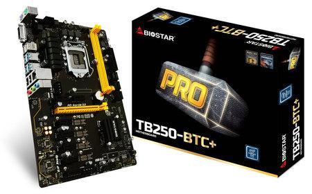 Mainboard - Bo Mạch Chuyên BITCOIN BIOSTAR TB250 BTC (8 Khe VGA)