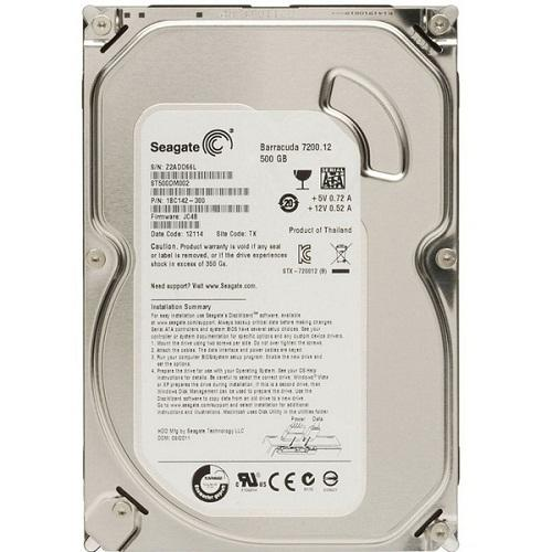 Ổ Cứng HDD Seagate 500GB SATA3 CTY 3N