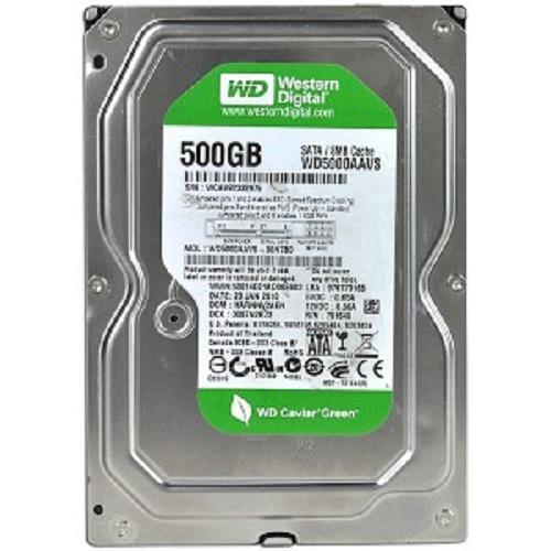 Ổ Cứng HDD Western 500GB BLUE/GREEN 3.5