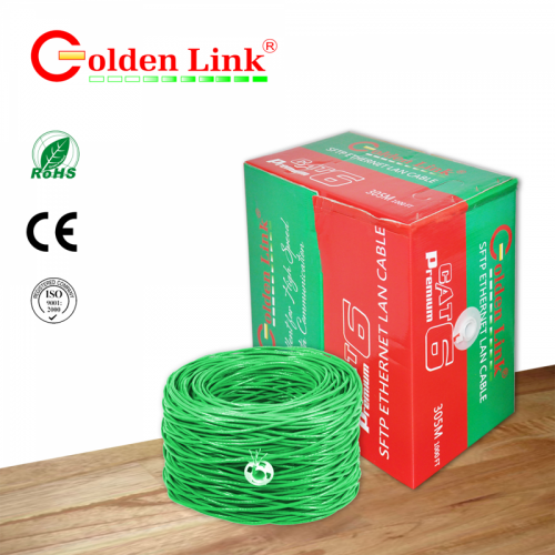Cable Golden link - 4 pair SFTP Cat6 305m-TAIWAN