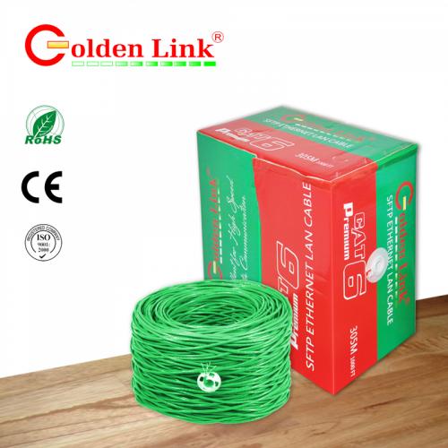 CÁP MẠNG GOLDEN LINK - 4 pair SFTP Cat6 305m chống nhiễu-TAIWAN