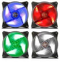 Fan Case 12CM 4 LED