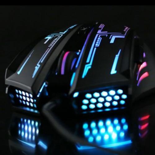 Chuột máy tính Fuhlen G60 USB LED 3 MÀU