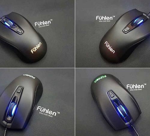 Chuột máy tính Fuhlen X102S USB LED