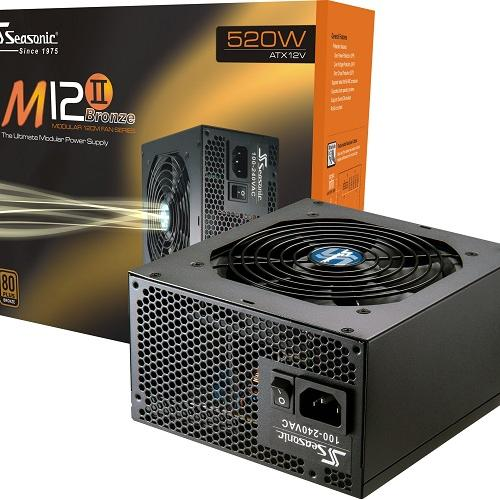 Nguồn máy tính SEASONIC  M12II-520W