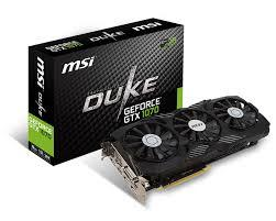 MSI GTX 1070 DUKE 8G OC