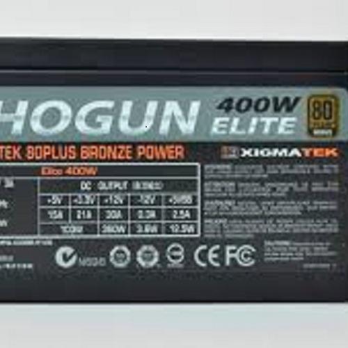 Nguồn máy tính XIGMATEK Shogun Elite 400W EN8200