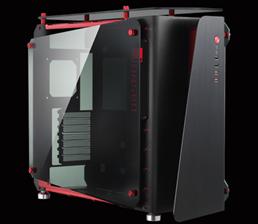Vỏ máy tính JONSBO MOD1 (Black - Red)
