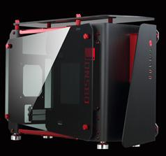 Vỏ máy tính JONSBO MOD1 Mini (Black - Red)