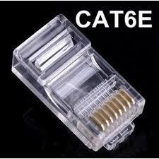 Đầu bấm dây mạng RJ45 AMP Cat6 FTP - 3 mảnh chống nhiễu