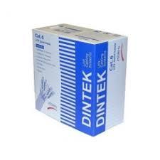 DINTEK CAT.6A S-FTP , 4 pair for 10GB application, 23 AWG, 305m