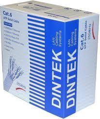 DINTEK CAT.6A, 4 pair for 10GB application, 23 AWG, 305m/cuộn gỗ