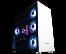Vỏ máy tính JONSBO C4W (Steel - White)