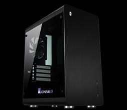 Vỏ máy tính JONSBO RM 3 (Black)
