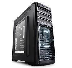 Vỏ máy tính DEEPCOOL Kendoman : 2 Fan Led 12cm, 3 Fan 12cm thường, USB 3.0, side window