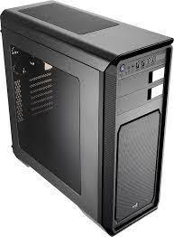 Vỏ máy tính AEROCOOL AERO 800: Side Window, thép 0.55mm, 2 Fan 12cm, usb 3.0*2