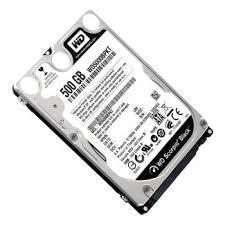 Ổ CỨNG Western Laptop 500Gb   SATA -7200 Rpm BLack