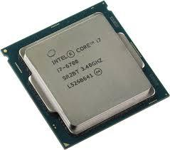 CPU Intel® Core i7 6700 TRAY FAN I3