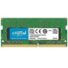 Ram Laptop CRUCIAL DDR4 NB 8G/2400/2666 (CT8G4SFS824A)