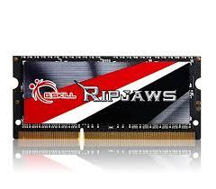Ram DDR3L  laptop Gskill 8GB  Bus 1600 Mhz Vol 1.35V - CL11  S/p Intel XMP heatsink aluminium haswell