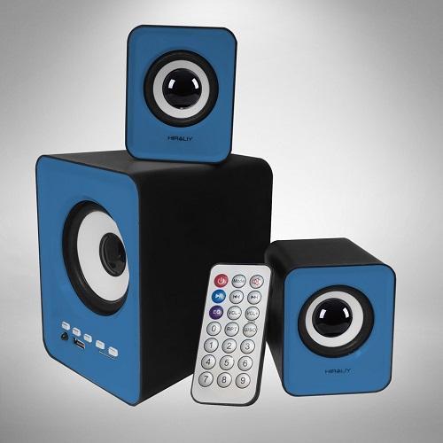 Loa vi tính FNT S-202BT 2.1 Tích hợp Bluetooth/ USB Thẻ Nhớ FM
