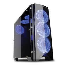 Vỏ máy tính Gaming Freak GFG MP1 LED PANEL-NẮP HÔNG TRONG SUỐT