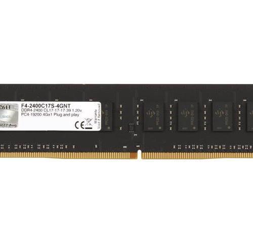 Ram Máy Tính GSKILL DDR4 4GB DDR4 2400MHz -F4-2400C17S-4GNT