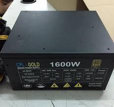 Nguồn Máy Tính - CPL 1600w 1600 GOLD(12 tháng)