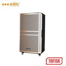Loa Kéo Di Động A/D/S TBF15K GỖ + 2 MIC UHF