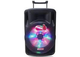 Loa Kéo Di Động BOCK BNS 3012A (USB+TF+BT+FM) + 2 Micro đi kèm – 280W Có đèn LED, 3 TẤT