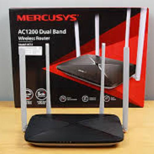 Thiết bị mạng - Router Mercusys 1200Mbps 4 Râu AC12
