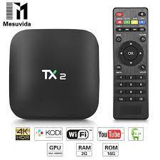 TIVI BOX TANIX TX2 - RAM 2GB ROM 16GB