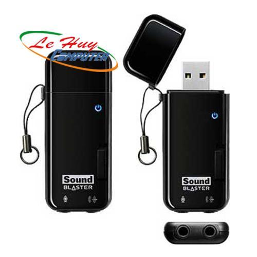Card Âm Thanh Creative SB X-FI Go Pro Card âm thanh, kết nối qua cổng USB, 2.1