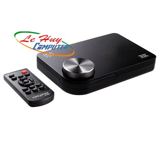 Card Âm Thanh Creative SB X-FI Surround 5.1 Pro with Remote control, Cổng USB 5.1