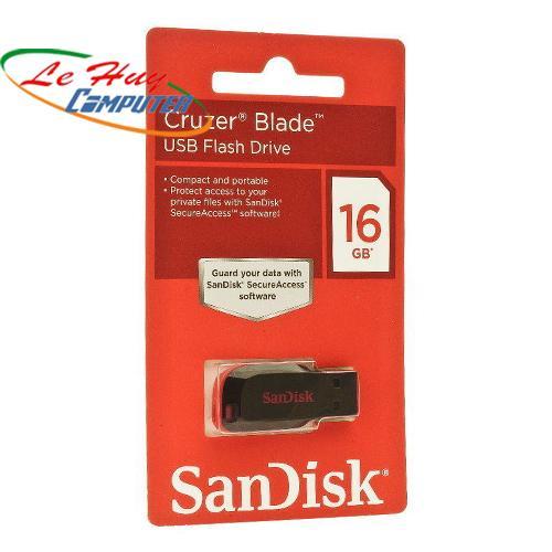 SANDISK  16GB CZ50 2.0 MINI NHỎ GỌN